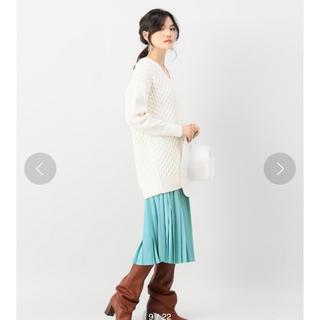 ノーブル(Noble)のノーブル アコーディオンプリーツスカート(ロングスカート)