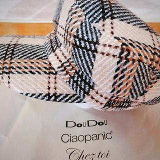ドゥドゥ(DouDou)のdou dou チェックキャスケット帽(キャスケット)