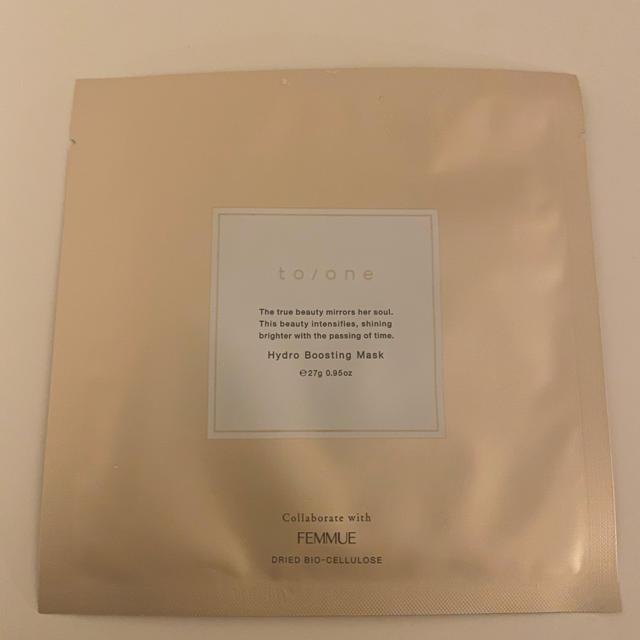 Cosme Kitchen(コスメキッチン)のto/ne×FEMMUEハイドロ ブースティング 2枚 コスメ/美容のスキンケア/基礎化粧品(パック/フェイスマスク)の商品写真