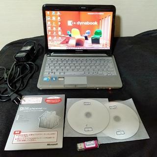 ノートPC TOSHIBA MX/36MBL