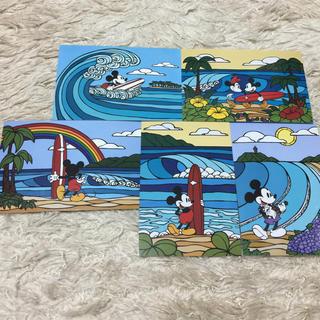 ヘザーブラウン ☆サーフミッキー☆ポストカード5枚