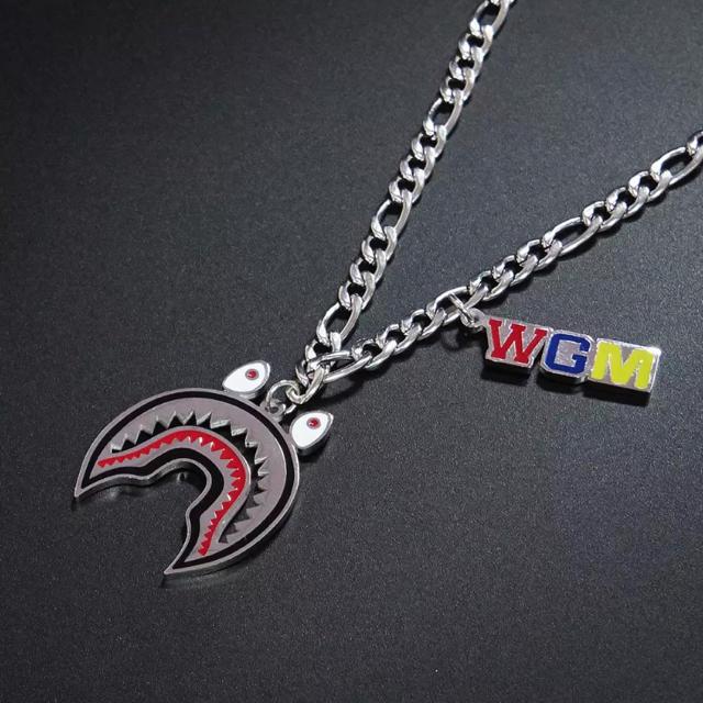 WGM ネックレス シャーク オリジナル品 メンズのアクセサリー(ネックレス)の商品写真