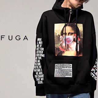 FUGA - FUGA フーガ ハーフジップ プルオーバーパーカー シヴァーライズ