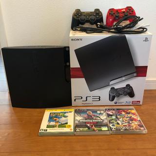PlayStation3 - PS3 本体 ソフト3本 HDMIケーブル