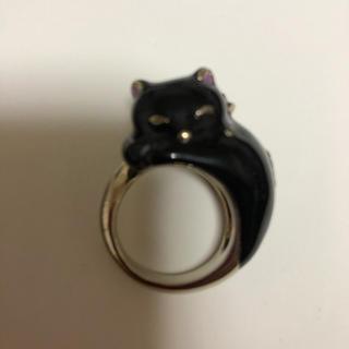 ANNA SUI - 【新品】ANNA SUI 黒猫リング
