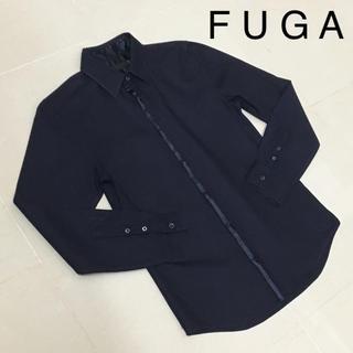 フーガ(FUGA)のFUGA フーガ サテン切り替え シャツ(シャツ)