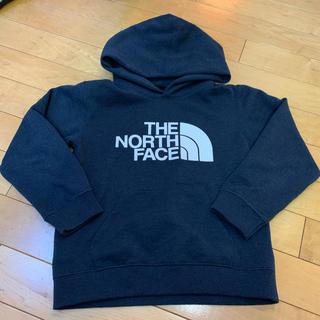 ザノースフェイス(THE NORTH FACE)のノースフェイス パーカー ネイビー 120cm キッズ(その他)