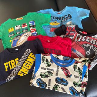 キッズ Tシャツ 3点セット トミカ プラレール(Tシャツ/カットソー)