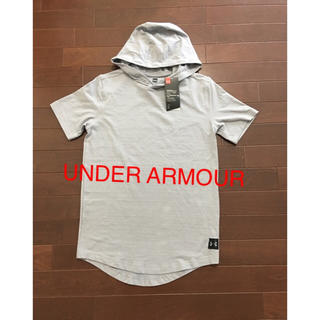 UNDER ARMOUR - 新品  アンダーアーマー   半袖 Tシャツ パーカー   S
