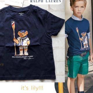 POLO RALPH LAUREN - 6t120cm  ラルフローレン レガッタ ベアプリント tシャツ