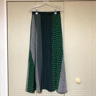 UNITED ARROWS - 【UNITED ARROWS】UWSC マルチプリント ラップスカート