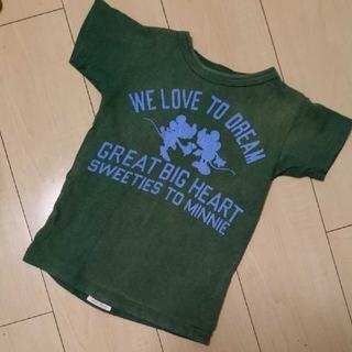 デニムダンガリー(DENIM DUNGAREE)のデニムダンガリー☆ミッキーTシャツ(Tシャツ/カットソー)