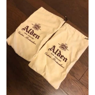 Alden - オールデン シューズ入れ