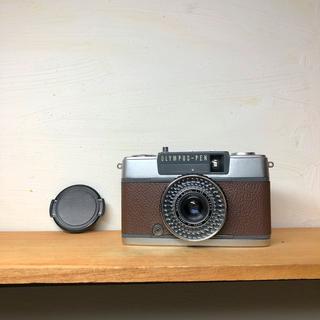 オリンパス(OLYMPUS)のOLYMPAS  PEN EE-2【DARKBROWN】整備品、完動品、キャップ(フィルムカメラ)