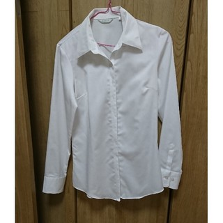 パーソンズ(PERSON'S)の【美品】開襟シャツ ワイシャツ(シャツ/ブラウス(長袖/七分))