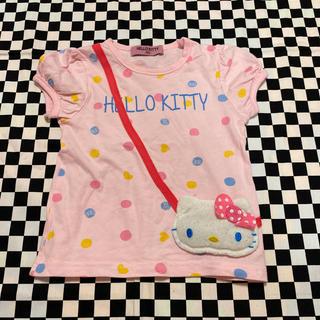 サンリオ(サンリオ)のキティポシェット付きTシャツ(Tシャツ/カットソー)