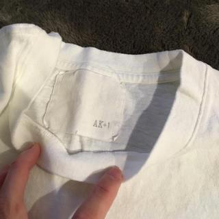 デミルクスビームス(Demi-Luxe BEAMS)のエッフェビームス AK +1 Tシャツ 白(Tシャツ(半袖/袖なし))