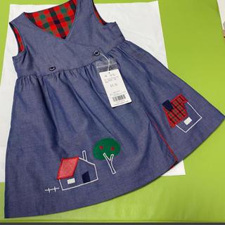 familiar - ファミリア ワンピース スカート 90サイズ 新品未使用