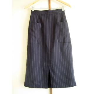 Rope' Picnic - ロペピクニック ピンストライプタイトスカート 38サイズ