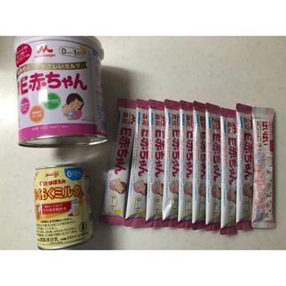 森永乳業 - 森永E赤ちゃん 粉ミルク300g スティック9本 液体ミルク らくらくミルク