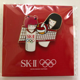 エスケーツー(SK-II)のSK-II  ピンバッチ  2020オリンピック記念(バッジ/ピンバッジ)