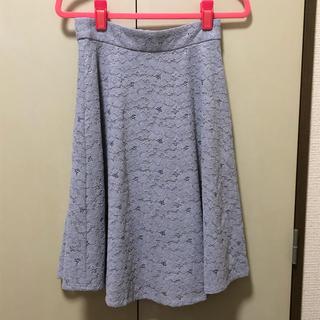 PROPORTION BODY DRESSING - PBD 膝丈レースフレアスカート