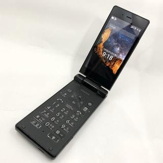 シャープ(SHARP)のSoftBank AQUOS ケータイ 501SH ブラック ガラケー 501(携帯電話本体)