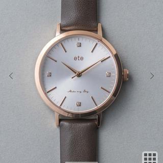 ete - 新品未使用未開封! ete 時計