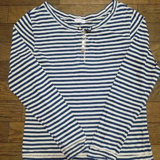 ボーダーカットソー(Tシャツ/カットソー(七分/長袖))