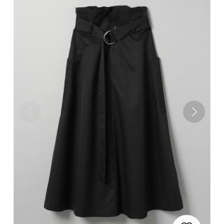 JEANASIS - フレアスカート ブラック