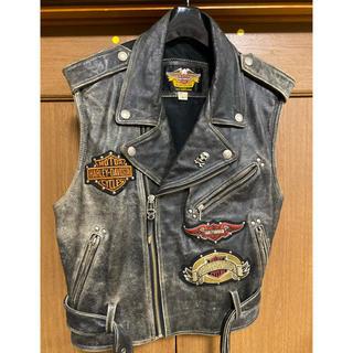 Harley Davidson - HarleyDavidson 牛革 皮ジャン