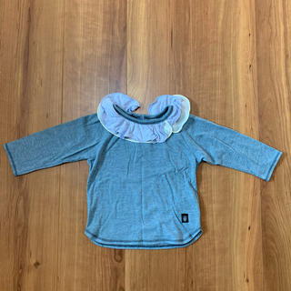 ズッパディズッカ(Zuppa di Zucca)のzuppa di zucca✳︎フリルTシャツ ズッパディズッカ ロンT 80(Tシャツ)