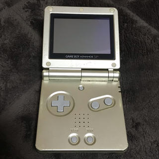 ゲームボーイアドバンス(ゲームボーイアドバンス)のゲームボーイアドバイスSP +ソフト3つ(携帯用ゲーム機本体)