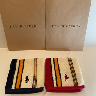 Ralph Lauren - 【新品、未使用】ラルフローレン ハンカチ 2枚セット