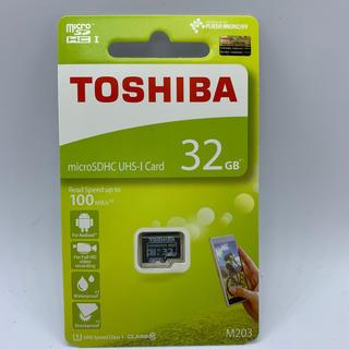 トウシバ(東芝)の東芝 microSDカード 32GB マイクロSD(その他)