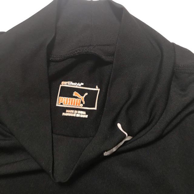 PUMA(プーマ)のアンダーウェア 長袖 ハイネック レディース  L レディースの下着/アンダーウェア(ショーツ)の商品写真