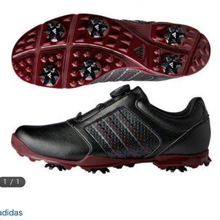 アディダス(adidas)の新品 レディースadidas ゴルフ アディダス ピュア ボア F33641(シューズ)