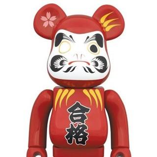 MEDICOM TOY - 【送料込】達磨 紅 赤 400%  合格祈願 ベアブリック ソラマチ 新品