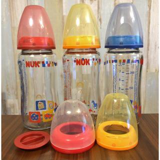 ヤヌーク(YANUK)のnuk 哺乳瓶 3本セット(哺乳ビン)