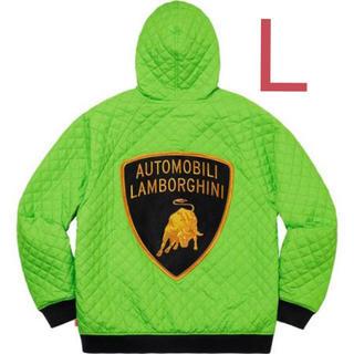 Supreme - L Supreme Lamborghini Hooded Work Jacket