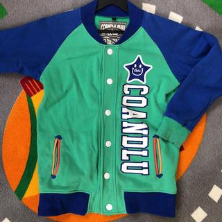 CO&LU - CO&LU 男の子 男児 130 140 スタジャン ジャンバー 緑 羽織り