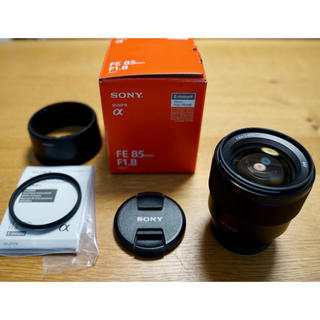 SONY - SONY FE 85F1.8 フルサイズ Eマウント