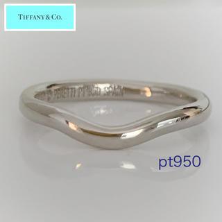 Tiffany & Co. - TIFFANY ✨ pt950 エルサ・ペレッティ カーブドバンドリング