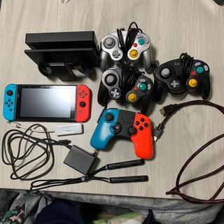 ニンテンドースイッチ(Nintendo Switch)のニンテンドーSwitch本体 キューブコントローラー等一式(家庭用ゲーム機本体)