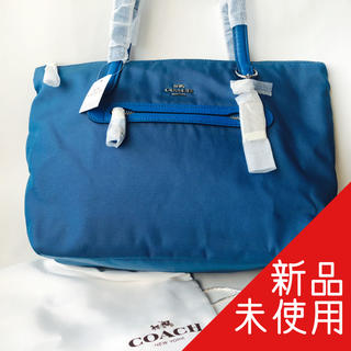 COACH - 【新品未使用】COACH ナイロンジップトートバッグ