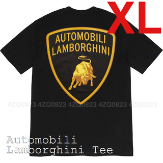 シュプリーム(Supreme)のXLサイズ Supreme Automobili Lamborghini Tee(Tシャツ/カットソー(半袖/袖なし))