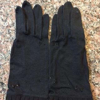 ANTEPRIMA - アンテプリマ  日除け手袋(黒)