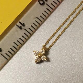 ete - エテ ete 18金ダイヤモンドネックレス