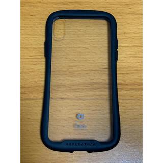 Apple - iFace クリアケース iPhoneX Xs ブラック リフレクション