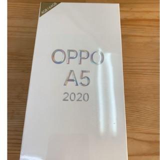 アンドロイド(ANDROID)の専用 OPPO A5 2020 グリーン 4GB/64GB 新品未開封 その1(スマートフォン本体)